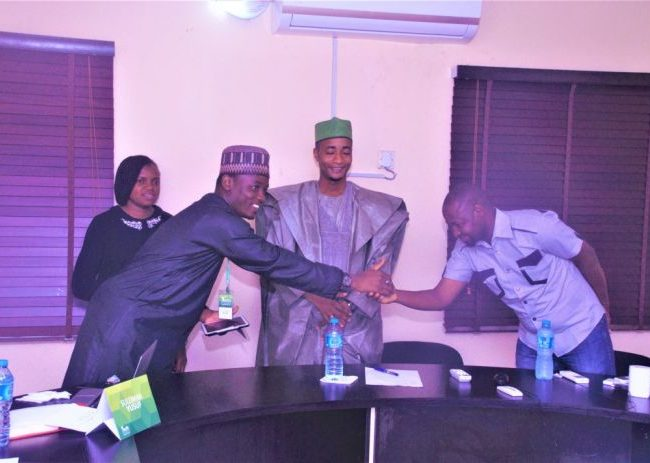 Induction and Swearing-In of newly elected National Executive Committee (NEC) 13